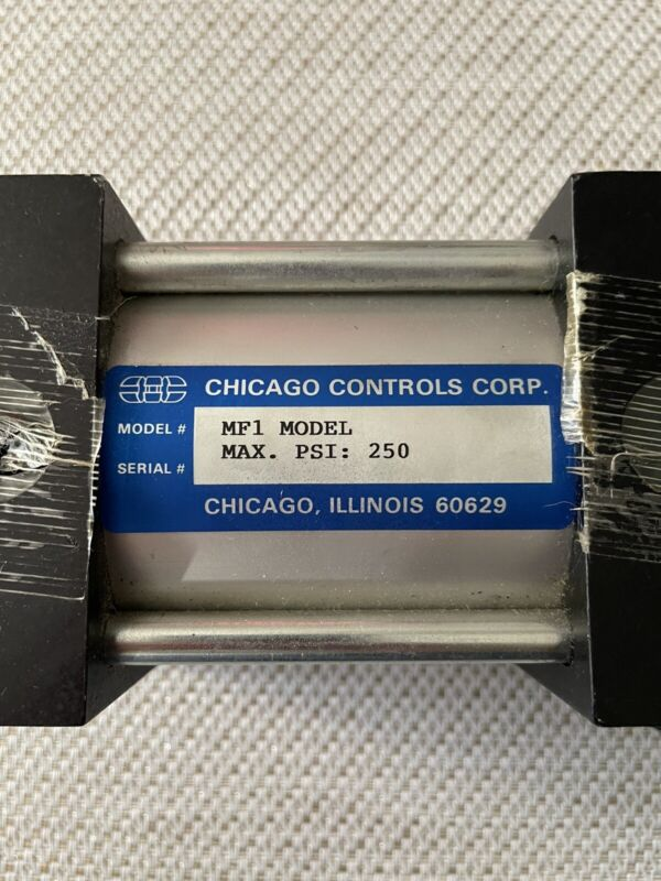 Chicago Controls, Cylinder MOD# MF1 -MA-6x4-1 3/4-SM-CBE BRAND NEW FAST SHIPPING