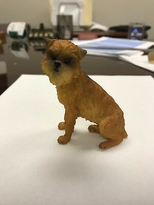 Brussels Griffon - Hand Painted - Resin - New In Box - Breyer Like