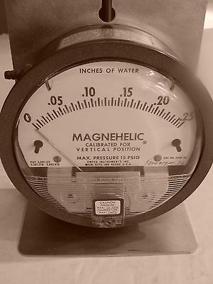 Dwyer Magnehelic Differential Pressure Gage 2000-00