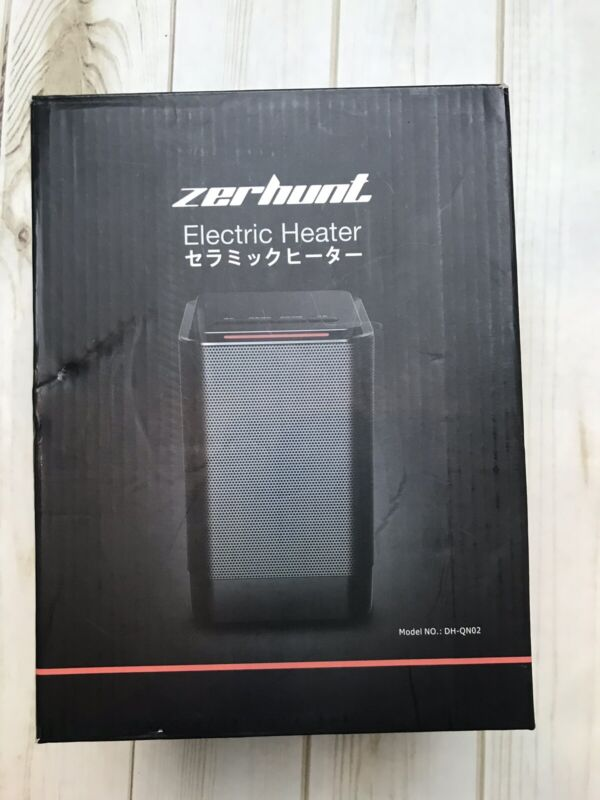 Zerhunt Electric Small Space Heater,portable Desk For Office Indoor Use,950w Ptc