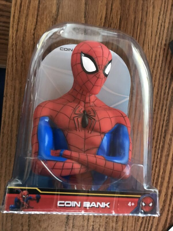Marvel - Spiderman Bust - Coin Bank - 3D Toy Figure - Bank