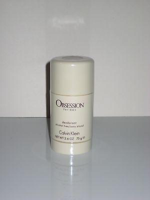 Calvin Klein Obsession Men Deodorant Stick Ck 2.6 Oz / 75 g Deo Stick BRAND NEW