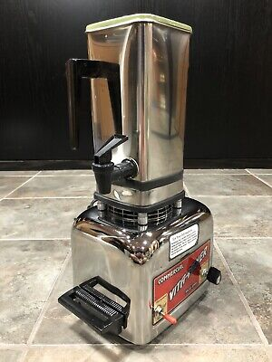 Vitamix Commercial Vita-mixer Maxi-4000 Stainless Steel Blender Wrong Lid