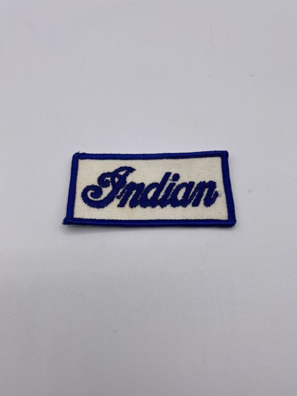 Vintage Indian Motorcycle Patch