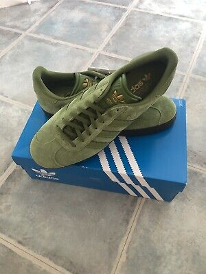 adidas gazelle 7.5 Green Ardwick cw Sold Out Casuals