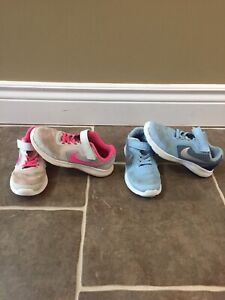 Nike sneakers size 1 (2 pairs available)