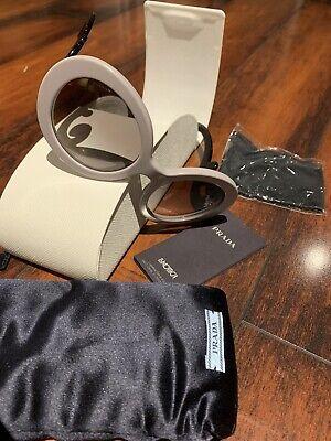 Authentic Prada Baroque Sunglasses Gray Limited (Prada Sunglasses Limited Edition)