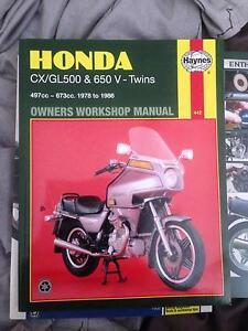 Honda CX Workshop Manual/ Honda CX restoration Manual Kalgoorlie Kalgoorlie Area Preview