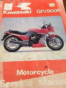 Kawasaki GPz900R ZX900  Ninja Service Manual