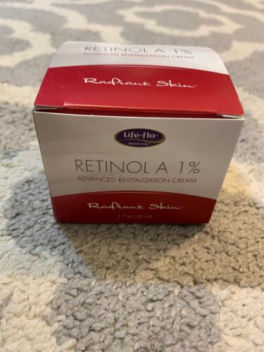 Retinol A 1% Life Flo Health Products 1.7 oz Cream Brand New