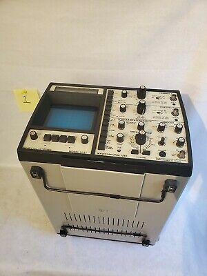 Sencore Sc61 Microprocessor 60mhz Dual Trace Oscilloscope Waveform Analyzer