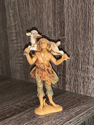 """Gabriel"" Shepherd Boy Fontanini by Roman 52551 Nativity Set Piece"