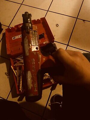 Hilti Dx 35 Semi-automatic Powder-actuated Fastening Tool Only Nail Gun