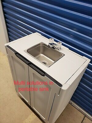 Portable Sink Handwash Self Contained Only Cold Water Unit Station Salon Spa