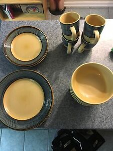 4 Place Set of Dishes