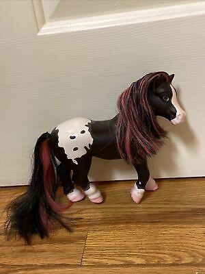 """Breyer Pink Black White Horse 2010 Pony Doll Plastic Toy 7"""""""
