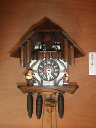 Cuckoo Clock Black Forest  SEE VIDEO Musical Chalet 1 Day CK2549
