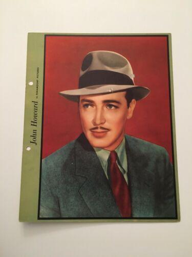 S10) Vintage John Howard Paramount Pictures Actor 8x10 Publicity Photograph