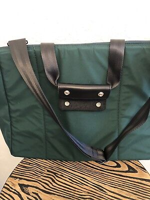 New Master-Piece Masterpiece Made in Japan Green Nylon Day Tripper Carry Bag