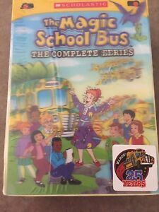 Magic School Bus- the complete series on DVD