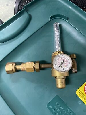 Harris 2-ar70f Flowmeter Compressed Gas Regulator. 580 Cga 0-4000psi 0-2800kpa
