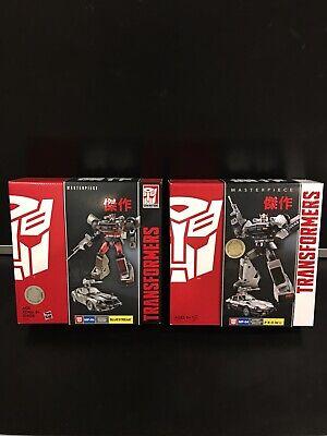 "Prowl & Bluestreak ""Transformers"" Masterpiece Collection"" Hasbro Toys R Us Editi"
