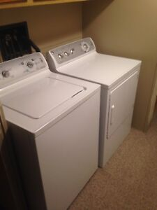 General Electric Energy Star HE Washer and Dryer