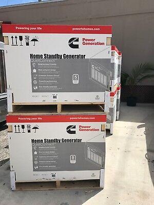 Cummins Home Standby Generator 20kw- Brand New