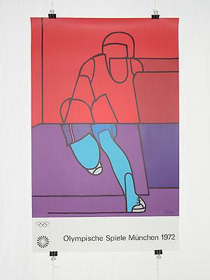 Poster Plakat - Olympiade 1972 München - Valerio Adami - Moderne