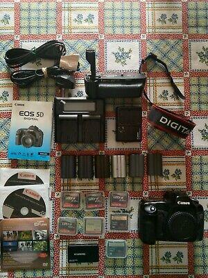 CANON EOS 5D - fotocamera digitale reflex full-frame - corpo + accessori