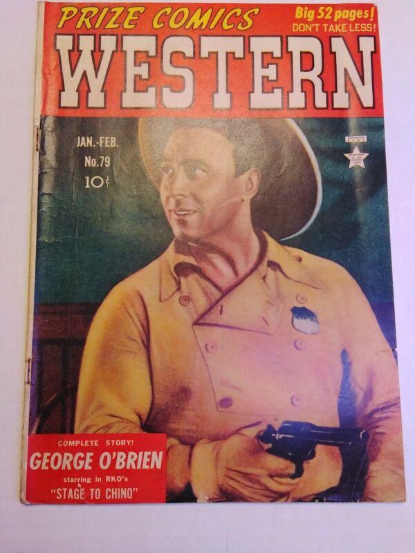Prize Comics Western #79 *