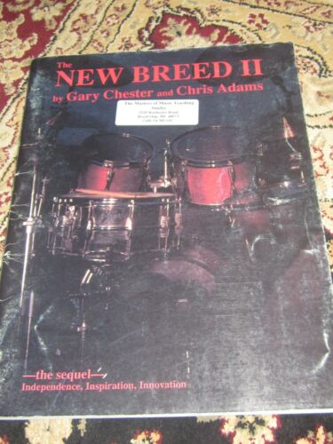 The New Breed II - Gary Chester, New - Old Stock w/Shelf Wear on Cover