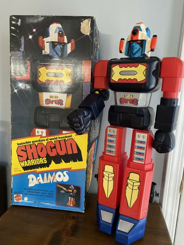"1978 Vintage Mattel SHOGUN Warriors DAIMOS Robot Toy 24"" Jumbo Machinder"