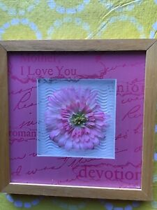 9 x 9 inches Mother, I love you well arts of California $5.00