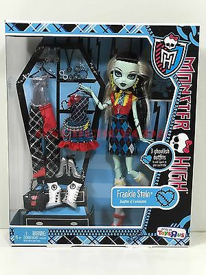 Monster High Doll I Heart Fashion Frankie Stein Toys R Us New in Box Retired