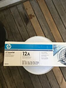 Hp12A Black Original Laserjet Toner