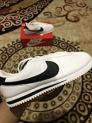 "Nike Cortez Basic SL (GS) UK 6 ""White/black"" 904764-102"