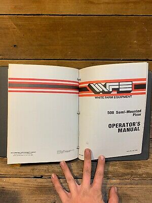 Lot Of 9 White Plow Disc Harrow Cultivator Operators Manual Shop Book 6342 508