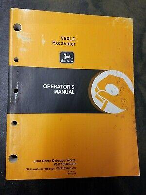 John Deere 550lc Excavator Operators Manual