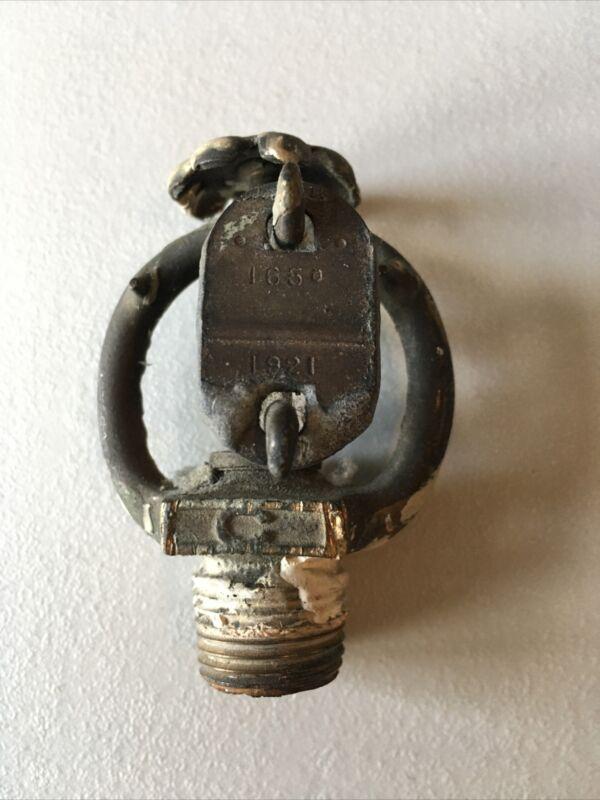 1921 Globe 165 Degree Fire Sprinkler Head Vintage