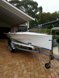 """Manly Graduate Sailing Dinghy -  MG 416 - """"Nth Degree"""""""