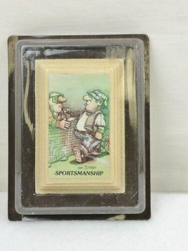 VINTAGE GARY PATTERON SPORTSMANSHIP SOAP
