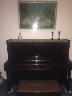 Yamaha U1A Professional Piano with matching stool Belmont Lake Macquarie Area Preview