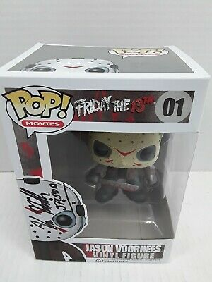 Kane Hodder Autographed Signed Funko Pop Figure Jason