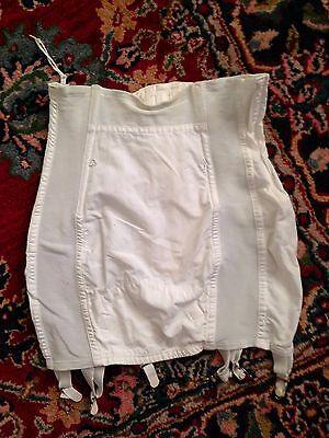 Girdle Garter Straps White Quality Made