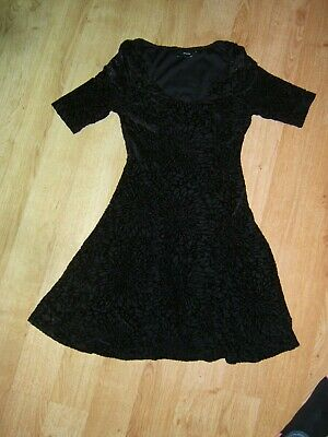 Womens/Ladies clothes Black Dress size 8 from asos petite