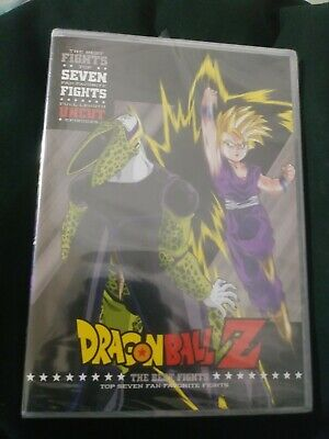 SEALED Dragon Ball Z The Best Fights DVD New DBZ Anime Toei Funimation super