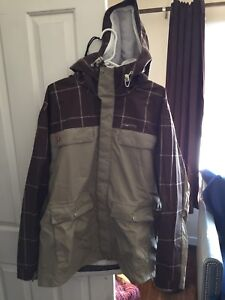 Four square snowboard jacket