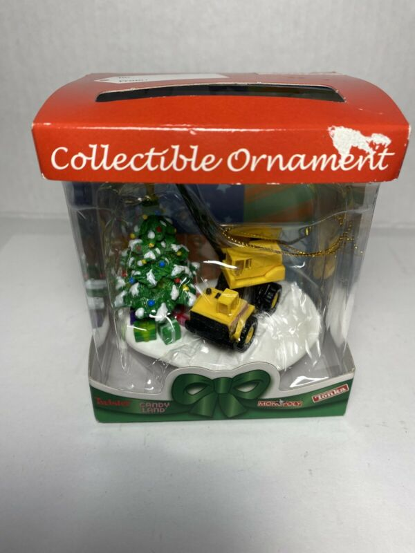 Basic Fun Hasbro TONKA Christmas Ornament NIB 2004  - Scratch Box
