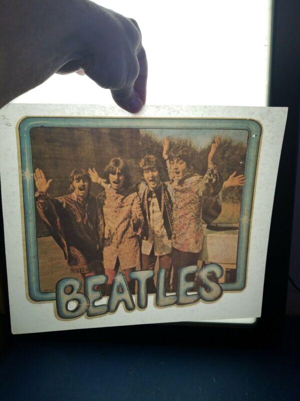 Vintage 1970s the Beatles iron on t shirt transfer nos John Lennon Paul McCarty
